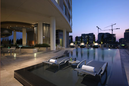 Superbe The Cirque Victory Park Downtown Dallas Luxury Apartment Residences